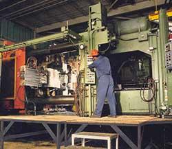 high pressure aluminum die castings machine